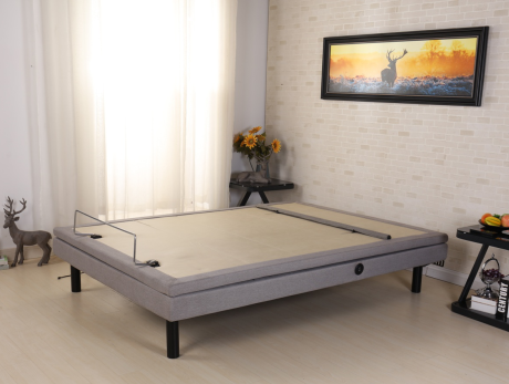 New Wireless Remote Control with Wall-hugger And Head/foot/neck/lumbar Lift Adjustable Bed Base